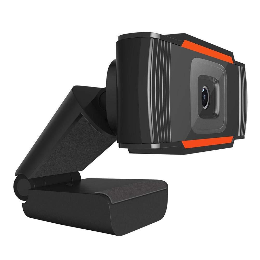 TFXHGGM USB 2.0 PC Webcam enregistrement vidéo HD Webcam webcam avec micro pour ordinateur PC portable Skype MSN (Color : Like the picture)
