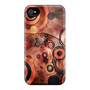 Mialisabblake Case Cover Protector Specially Made For Iphone 4/4s Grange