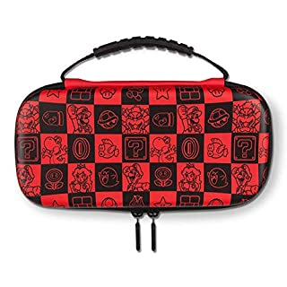 POWER A Protection Kit Lite -Red Super Mario Bros. Checkerboard - Nintendo Switch