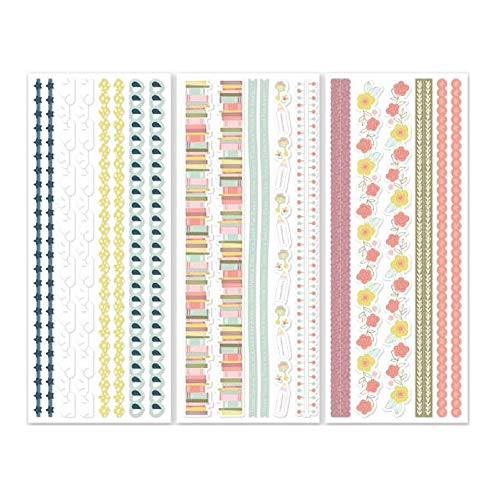 - Creative Memories Storytime Baby Girl & Boy Border Scrapbook Stickers Pack 3/pk