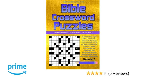 Bible Crossword Puzzles Vol 2: 50 Newspaper style Bible