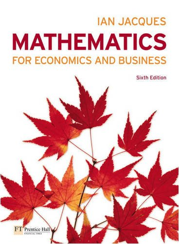 Mathematics for Economics plus MathXL pack ebook