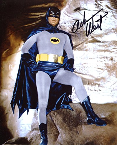 Adam West Signed/Autographed Batman 8x10 Glossy Photo. Includes Fanexpo Fanexpo Certificate of Authenticity and Proof. Entertainment Autograph Original.