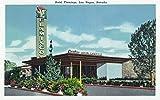 Las Vegas, Nevada - Exterior View of the Hotel Flamingo (12x18 Collectible Art Print, Wall Decor Travel Poster)