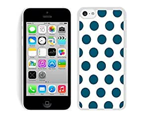 MMZ DIY PHONE CASEWonderful Speck ipod touch 4 TPU White Case Silicone New Cell Phone White and Dark Green Dot Cover
