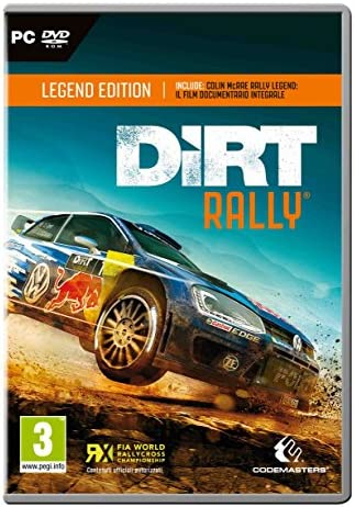 Dirt Rally: Legend Edition - Day-One Limited [Importación Italiana]: Amazon.es: Videojuegos