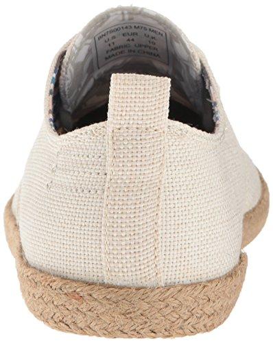 Ben Sherman Mens Nouveau Prill Dentelle Lace Sneaker De Mode Blanc Lin - M