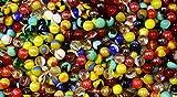 1000 Count Bulk Assorted Premium PeeWee Glass Mega Marbles Review