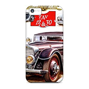 New Buc Classic Tpu Skin Case Compatible With Iphone 5c