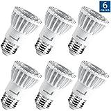 Hyperikon PAR16 LED Bulb, 8W (50W Equivalent), 500 lumen, 2700K (Warm White) CRI90+, Spot Light Bulb, Medium Base (E26), Dimmable, UL & ENERGY STAR - Great For Outside, Spotlight, Track Light (6 Pack)