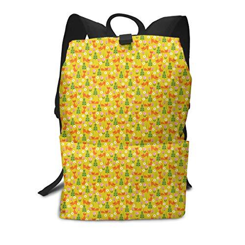 (Woodsy Cats On Gold Mini Cute Lightweight Women Themed Mini Bookbag Teens School Backpack Bookbags College Bags Satchel Travel Book Bag Daypack)