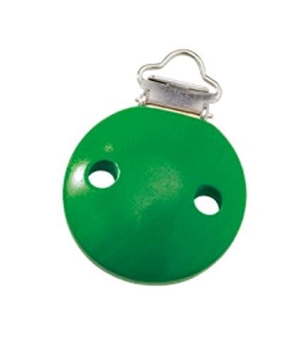 Selecta Fijación Clip Verde para cochecito Cadena o Chupete ...