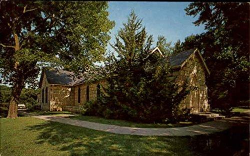 St. Maryu0027s Chapel Fort Riley, Kansas Original Vintage Postcard