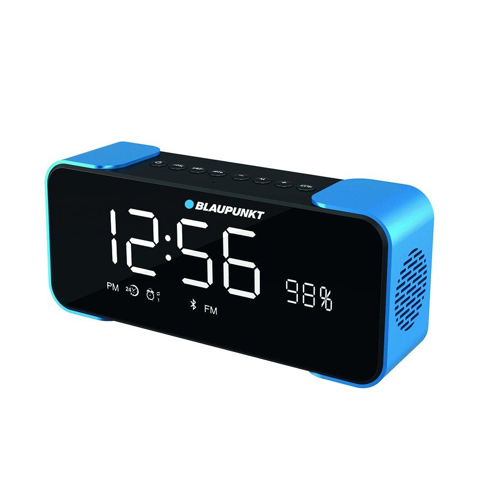 Azul Cielo Blaupunkt blp2000/Radio Despertador enceint Compatible con Bluetooth 4.0/