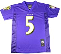 Joe Flacco Baltimore Ravens #5 NFL Youth Mid-tier Jersey Purple