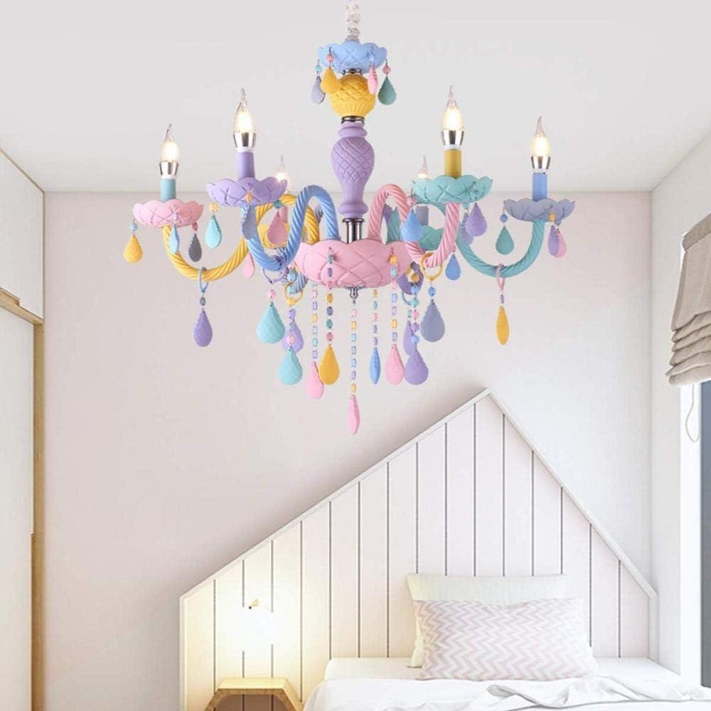 Kinderzimmer LED Kronleuchter E14 M/ädchen Schlafzimmer Kronleuchter Pendelleuchte M/ädchen Schlafzimmer Lampe Beleuchtung LED Deckenleuchte Geschenk
