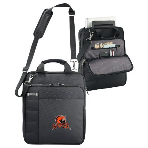 Baker Kenneth Cole Black Vertical Checkpoint Friendly Messenger 'Primary Mark' by CollegeFanGear