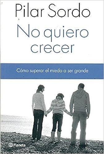 Book No Quiero Crecer