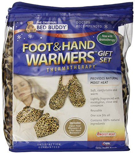 Carex Health Brands Bed Buddy Foot and Hand Warmer, Leopard by Carex Health Brands