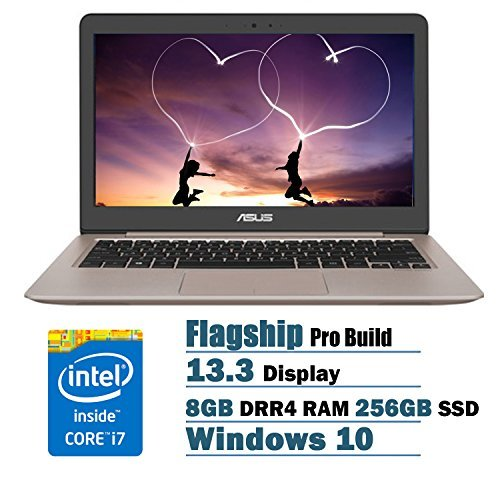 ASUS UX310UA ZenBook 13.3 Inch Full HD Laptop PC Flapship Edition Intel Core i7-6500U 8GB DRR4 256GB SSD Windows 10...