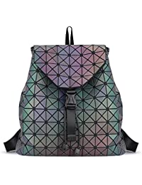 Fashion Unisex Luminous Flash Backpack Casual Travel...