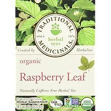 Traditional Medicinals Organic Raspberry Leaf Herbal Tea - 16 Tea Bags