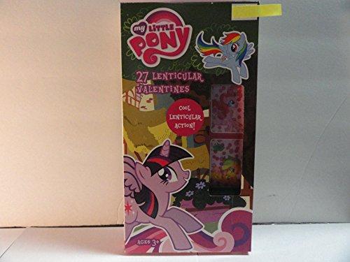 My Little Pony 27 Lenticular Valentines