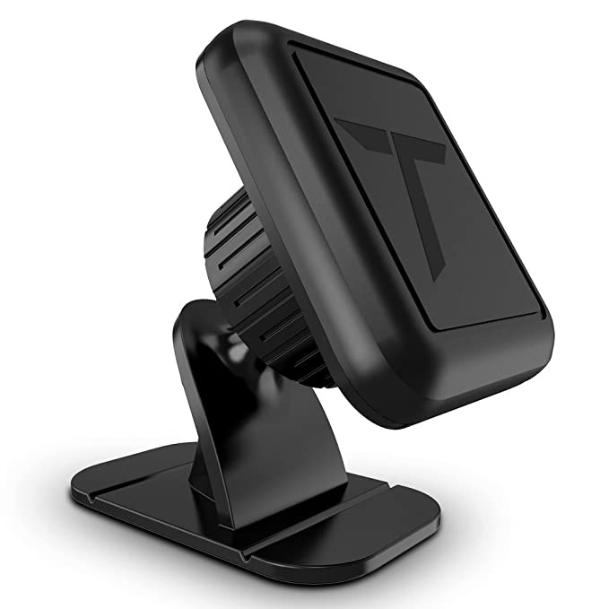 Trianium Magnetic Car Phone Mount for iPhone XS Max XR X 8 7 6s 6  Plus,Galaxy S10 5G S10+ S10e S9 S8 Edge Note 9,LG G7 ThinQ,Pixel 3 XL[Stick  On