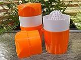 Hand Orange Juicer Press Manual Citrus Squeezer By Natural Life Best Reamer Juice Maker Easy Clean BPA Free