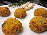 Crab Cakes - Gourmet Frozen Seafood Appetizers (40 Piece Tray)