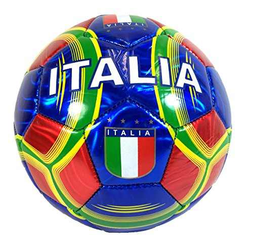 Italy Soccer Ball Summer High Quality Outdoor Sport Soccer Fan 2014 World Cup Italy Italia Ball Size 5! by Bk