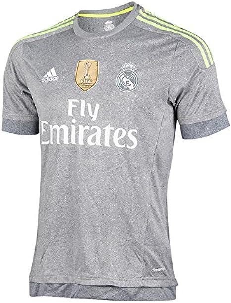 2º Equipación Real Madrid C.F 2015/2016 - Camiseta oficial adidas ...
