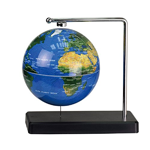 Floating Desktop Globe (ScienceGeek Floating Globe moon Geography Science Toys Desktop Decoration (Globe))