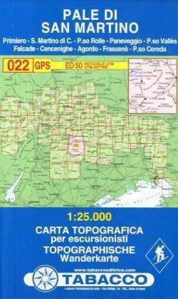Cartina Tabacco 015.Amazon It Pale Di San Martino 1 25 000 022 Tabacco Libri In Altre Lingue