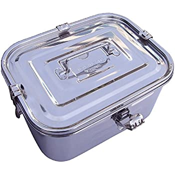 Amazoncom Stainless Steel Rectangular Kimchi Food Storage