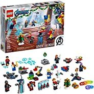 LEGO Marvel The Avengers Advent Calendar 76196 Building Kit, an Awesome Gift for Fans of Super Hero Building T