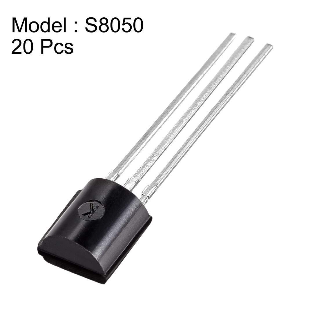 S8050 NPN TO-92 20pcs encapsulated Plastic Power Transistor