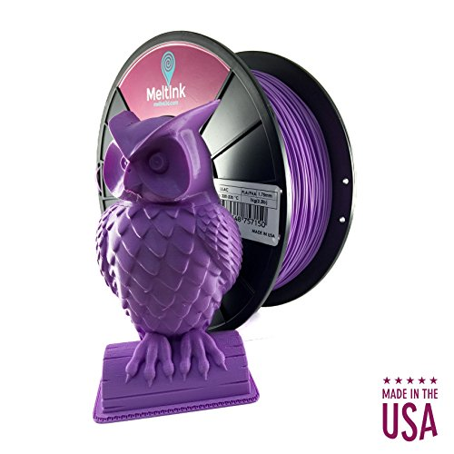 MeltInk3d Lilac 1.75mm PLA 3D Printer Filament PLA 1Kg