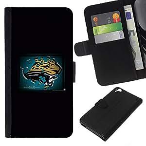 Stuss Case / Funda Carcasa PU de Cuero - Panther - HTC Desire 820