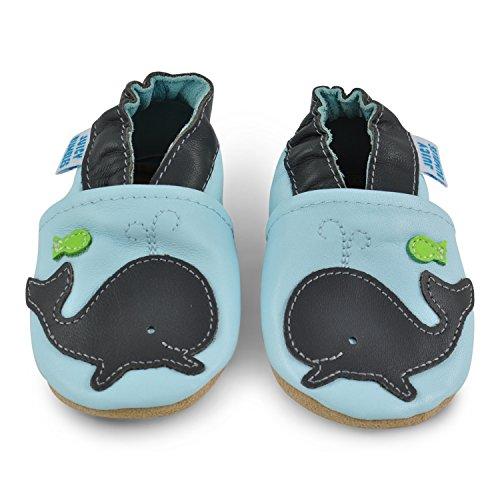Juicy Bumbles - Zapatos de Bebé – Ballena - 0-6 Meses Ballena