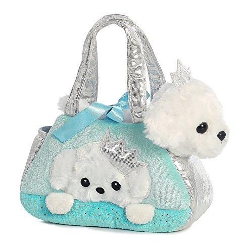 [Aurora World Fancy Pals Pet Carrier, Peek-A-Boo Princess Puppy] (Peek A-boo Pals)