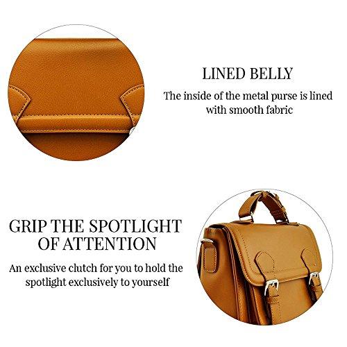 TrendStar - Bolso de tela para mujer B - Brown