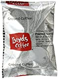 Boyds Coffee French Vanilla Flavored Ground Medium, Dark Roast Coffee, 2.75-Ounce Portion Packs (Pack of 46)