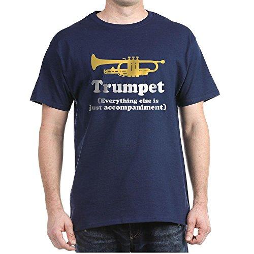 CafePress Trumpet T Shirt Comfortable Classic