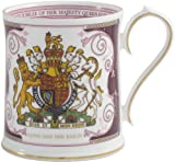 Aynsley Diamond Jubilee Queen Elizabeth II Mug