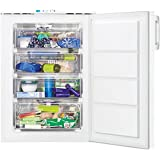 Zanussi ZFT10210WA 85x60cm 80L Frost Free Freestanding Under Counter Freezer White