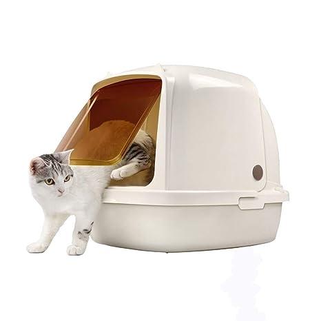 MTCWD Caja De Aseo para Mascotas, Arenero para Gatos, Caja ...