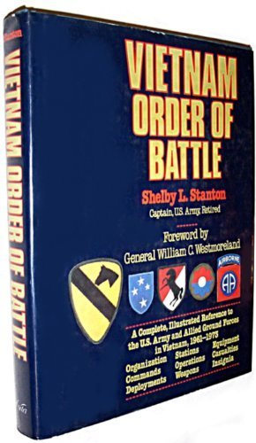 Vietnam: Order of Battle (Order Battle Of Vietnam)