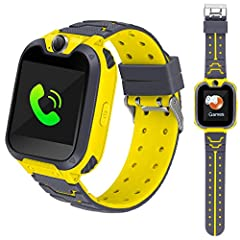 description:       1.our kids phone watch has 12 built-in functions, including 7 mini games, which are very operational.       2. the phone watch has been simplified in the function. for example, the phone only needs to insert a 2g pho...