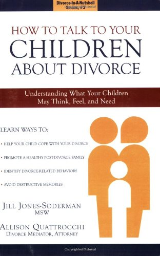 How to Talk to Your Children About Divorce pdf